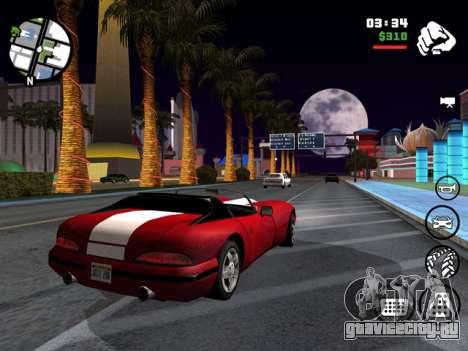 скриншот Grand Theft Auto San Andreas для iOS
