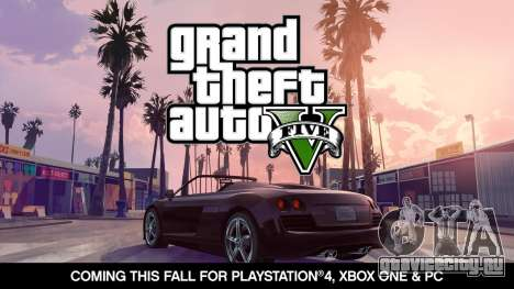 Анонсирована дата выхода GTA 5 на PC, Xbox One и PlayStation 4!