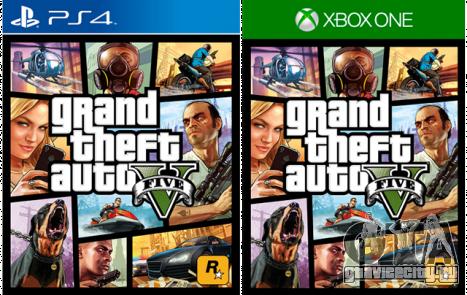 GTA 5 доступна на PS 4 и Xbox One