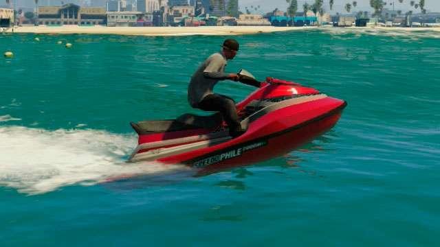Speedophile Seashark из GTA 5