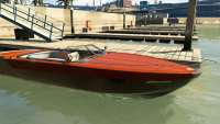 Pegassi Speeder из GTA 5 - вид спереди