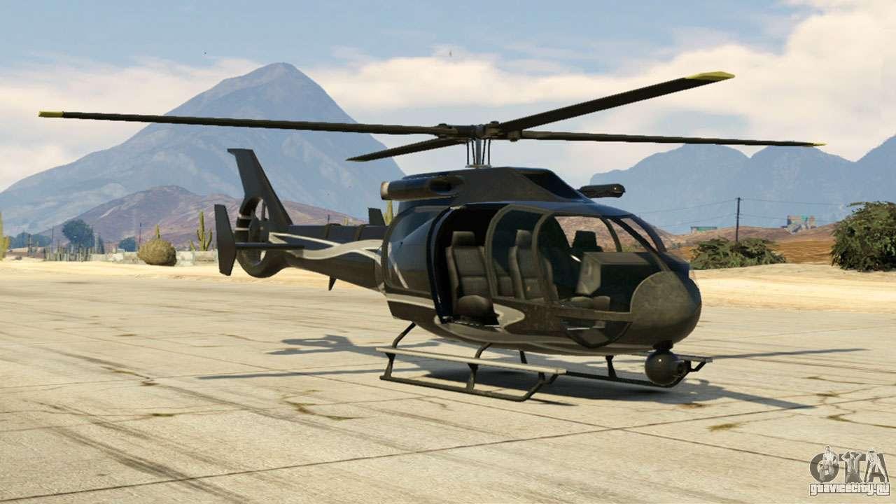 Maibatsu Frogger из GTA 5 - скриншоты, характеристики и описание вертолёта