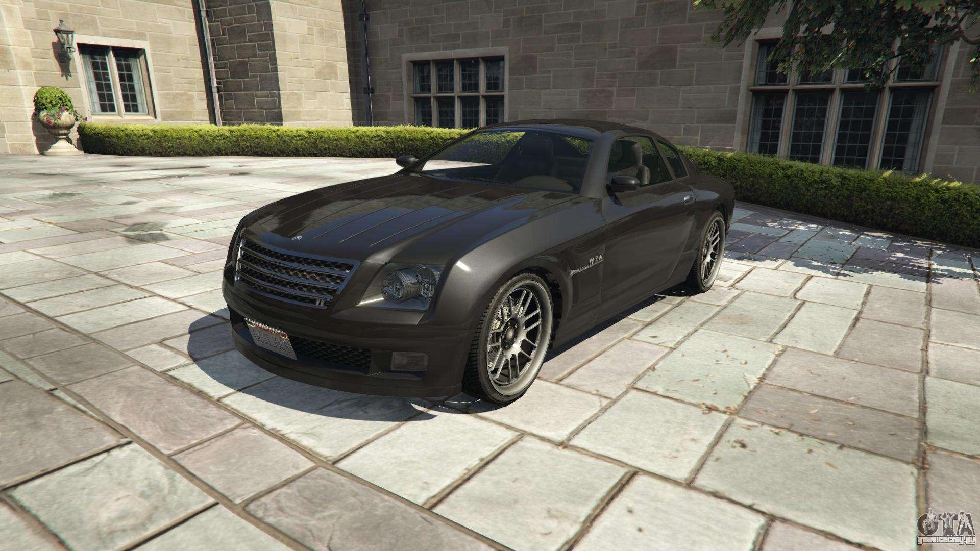 Shyster Fusilade из GTA 5 - вид спереди