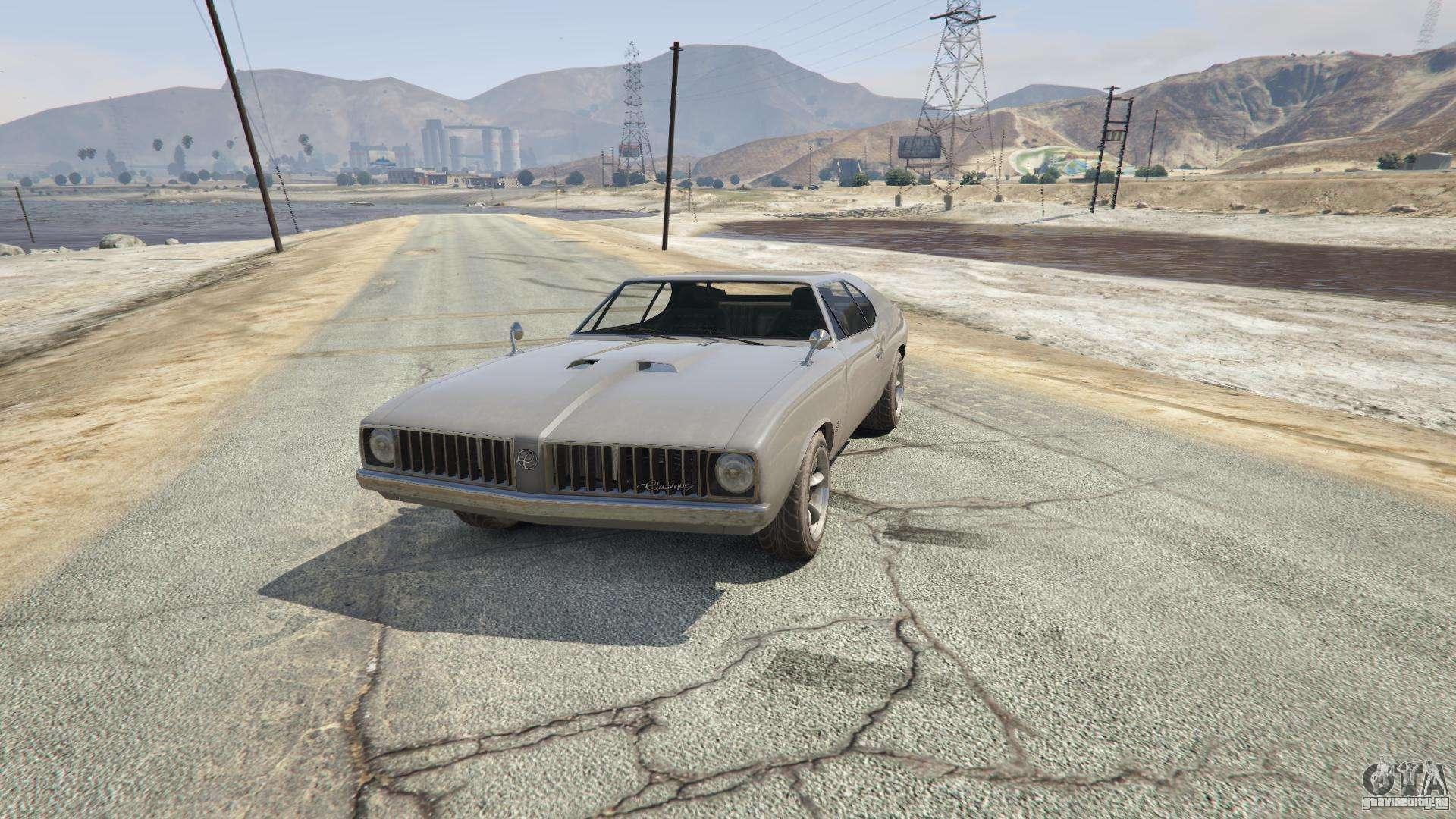 Stallion из GTA 5 - вид спереди