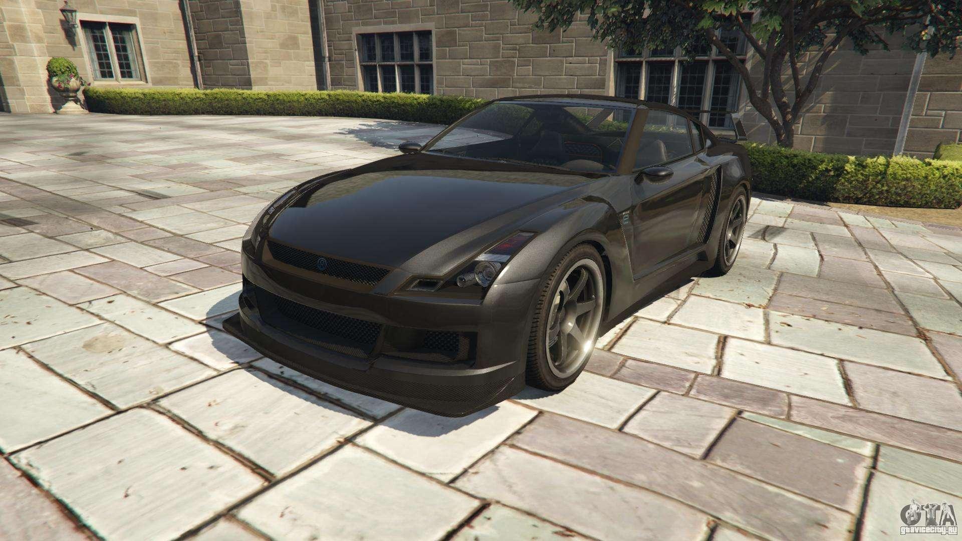 Annis Elegy RH 8 из GTA 5 - вид спереди