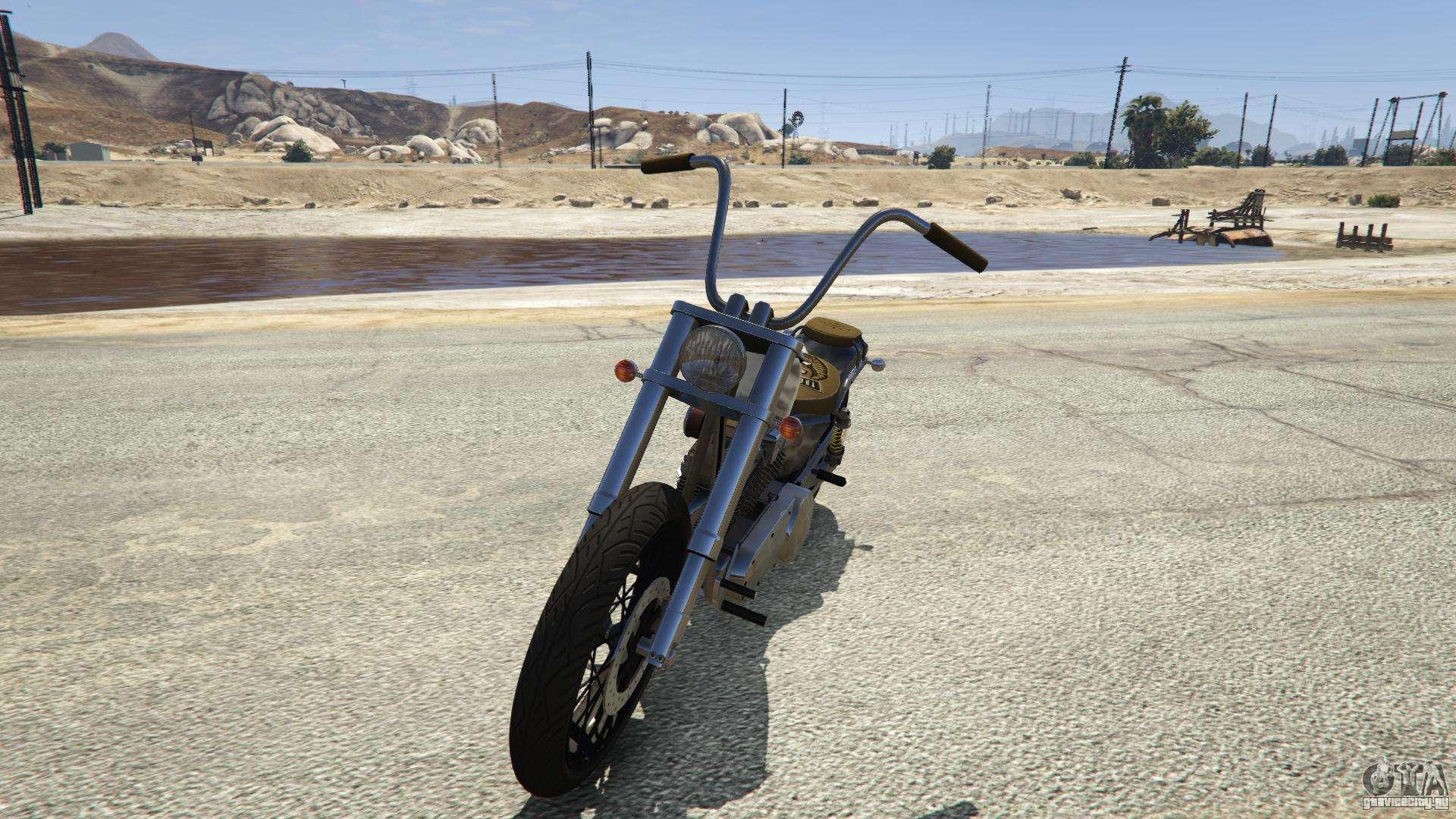 Western Motorcycle Company Daemon из GTA 5