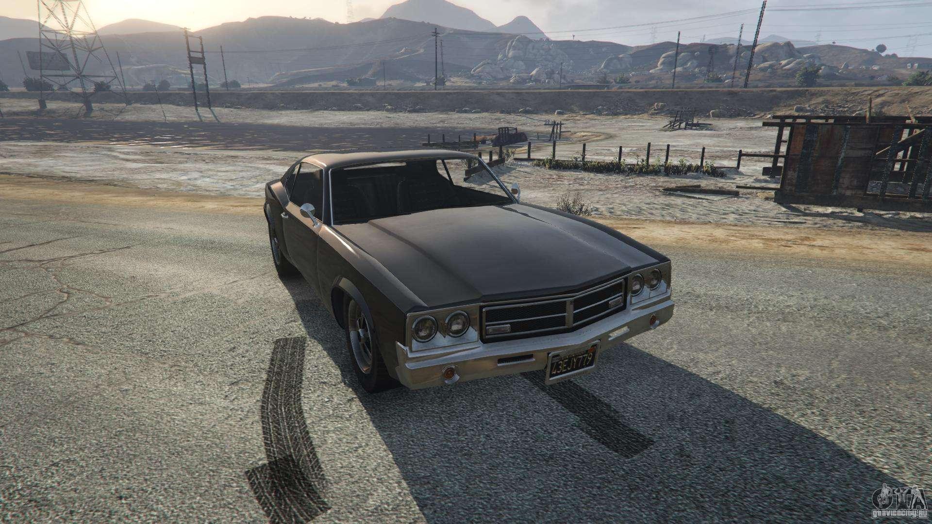 Sabre Turbo из GTA 5 - вид спереди