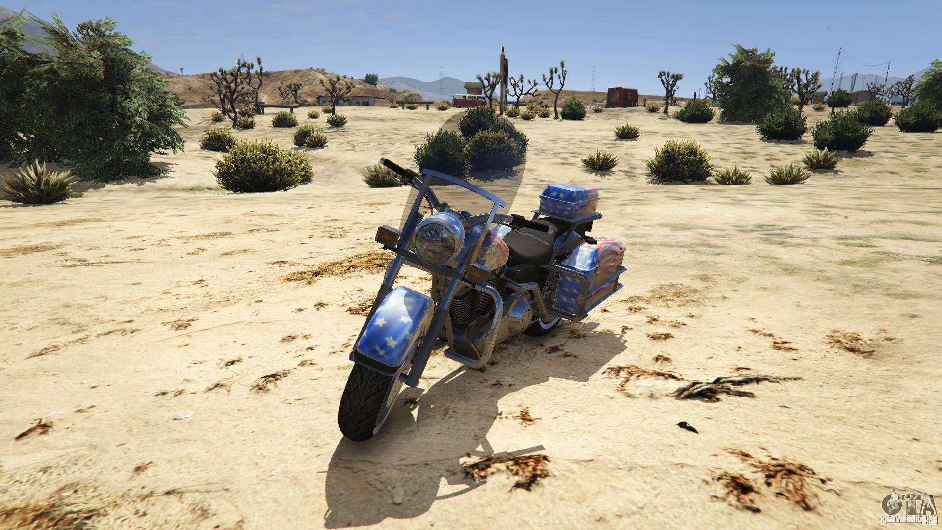 Western Motorcycle Company Sovereign из GTA 5