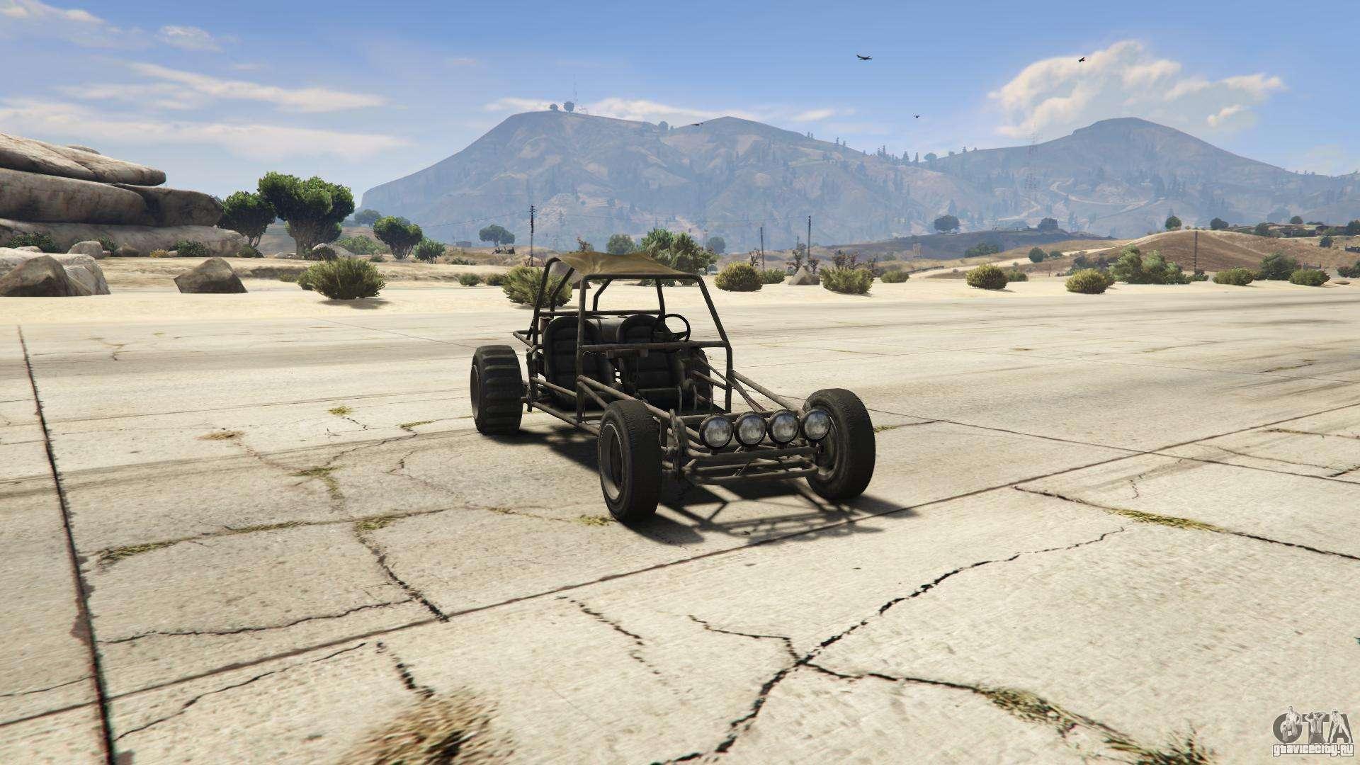GTA 5 BF Dune Buggy - вид спереди