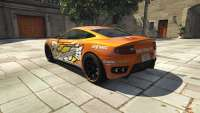 Dewbauchee Massacro Racecar из GTA 5 - вид сзади