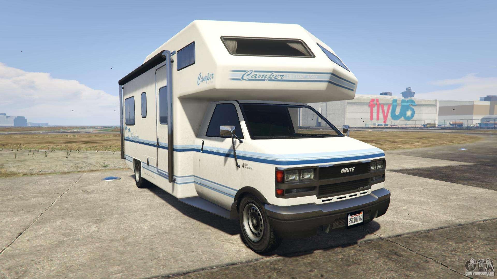 GTA 5 Brute Camper - вид спереди