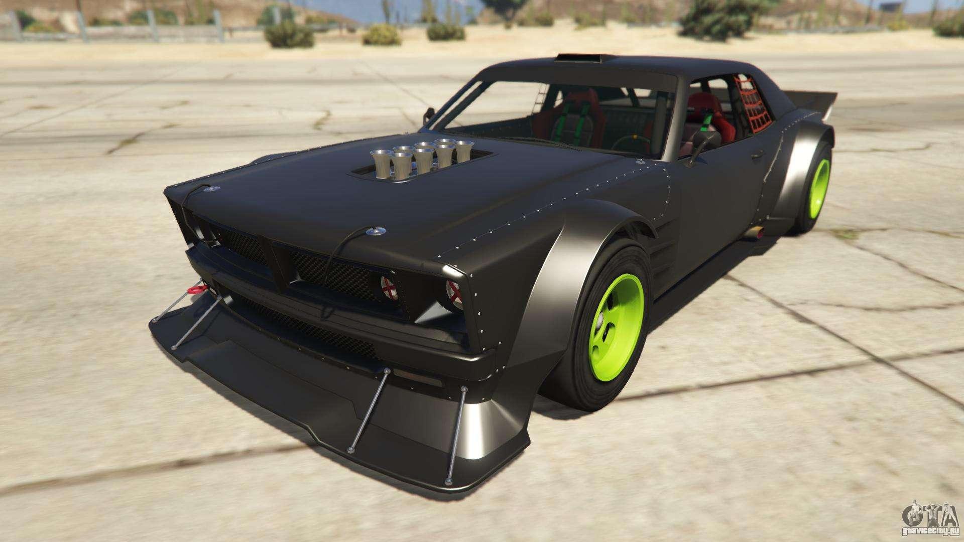 Declasse Drift Tampa из GTA Online - вид спереди