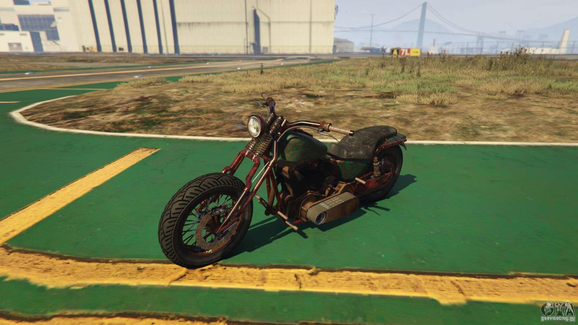 Новый мотоцикл Western Rat Bike из GTA Online