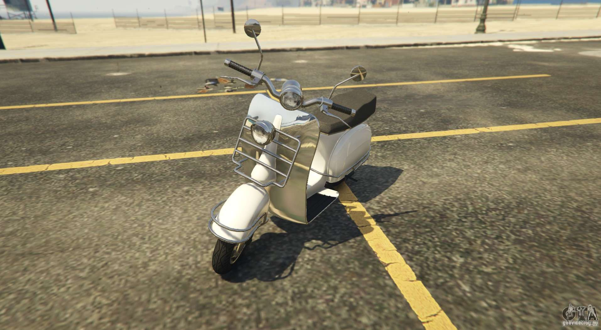 Городской скутер Pegassi Faggio Mod в GTA Online