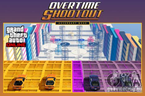 Режим противоборства Overtime Shootout
