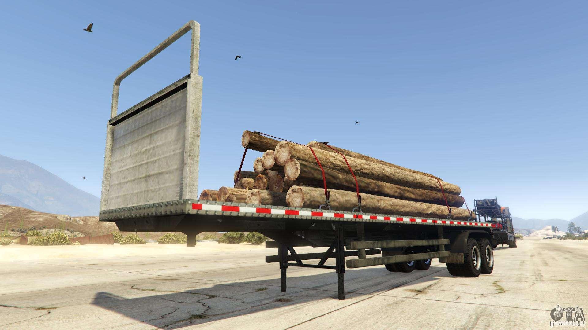 Log Trailer из GTA Online