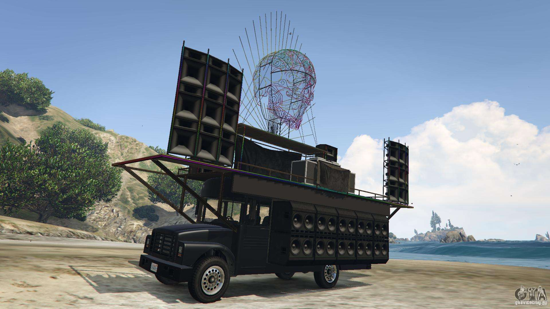 Vapid Festival Bus GTA 5
