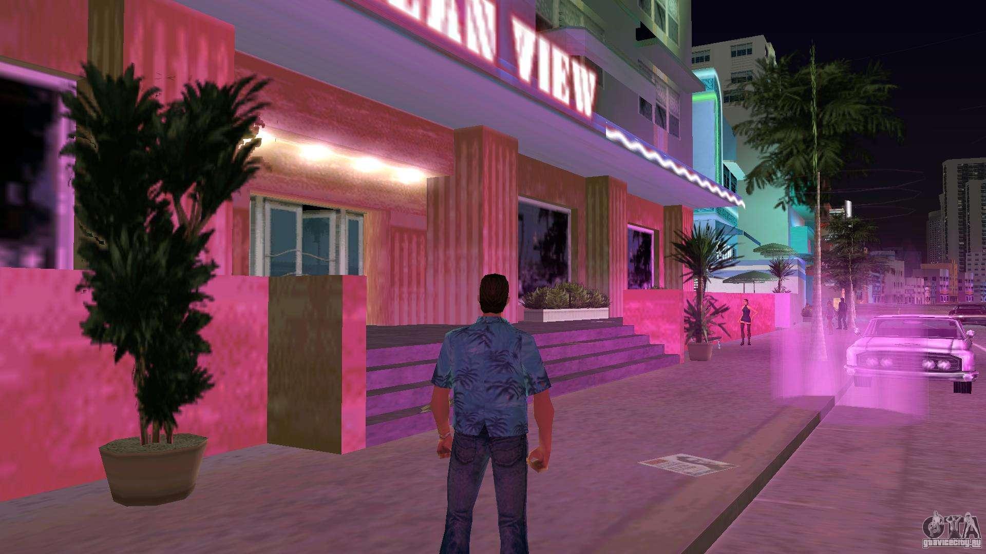 Способы улучшения графики в ГТА Вайс Сити (GTA Vice Сity)