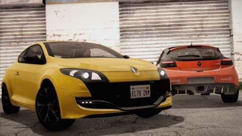 Renault Megane RS Tunable - GTA San Andreas