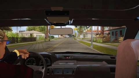 Вид из кабины для GTA San Andreas