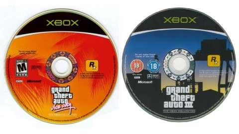 GTA 3 и GTA Vice City уже 10 лет на Xbox