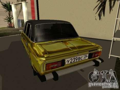 Ваз 2106 (Золотой) для GTA San Andreas вид слева