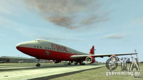 Fly Kingfisher Airplanes with logo для GTA 4