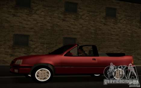 Chevrolet Kadett GSI Cabrio для GTA San Andreas вид слева