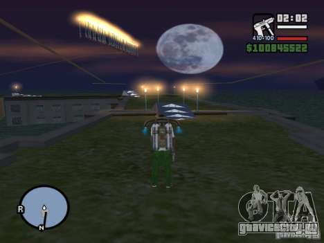 Night moto track V.2 для GTA San Andreas