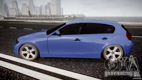 BMW 118i для GTA 4 вид слева