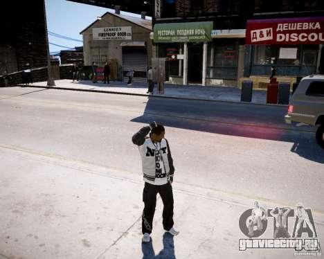 Niko - Cj для GTA 4 третий скриншот