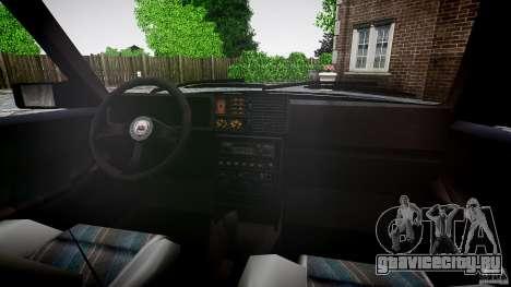 Lancia Delta HF 4WD для GTA 4 вид снизу
