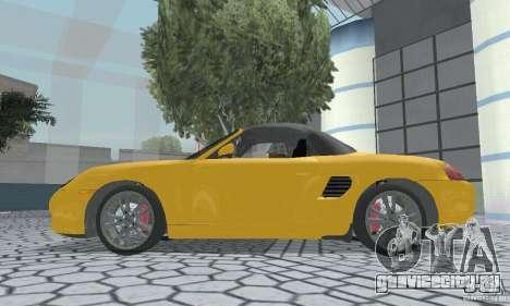 Porsche Boxster для GTA San Andreas вид справа
