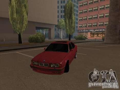 BMW E34 M5 для GTA San Andreas