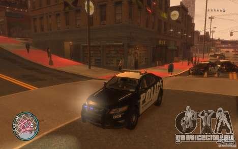 Ford Taurus Police для GTA 4