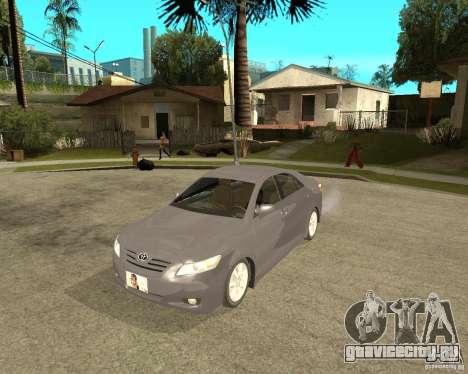 Toyota Camry XV40 2007 для GTA San Andreas