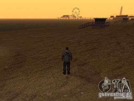 HD Пляж Санта Мария для GTA San Andreas пятый скриншот