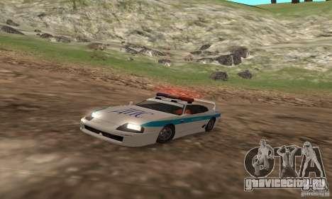 Jester Russian Police для GTA San Andreas вид слева