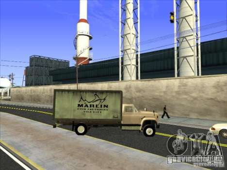 Yankee на базе GMC для GTA San Andreas вид сверху
