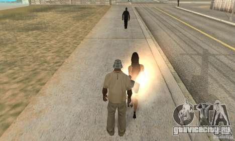 SuperClon (КЛОНИРОВАНИЕ ЛЮДЕЙ В SAN ANDREAS) для GTA San Andreas второй скриншот