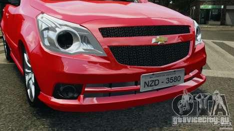 Chevrolet Agile для GTA 4 вид сбоку