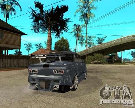 АЗЛК 2140 SX-Tuned для GTA San Andreas вид сзади слева