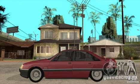 Opel Omega A для GTA San Andreas вид слева