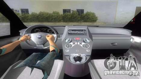 Fiat Panda 2004 для GTA Vice City вид сзади слева