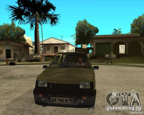 OKA 1111 Kamaz для GTA San Andreas вид сзади
