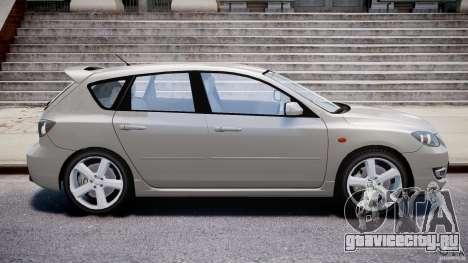 Mazda 3 2004 для GTA 4 вид слева