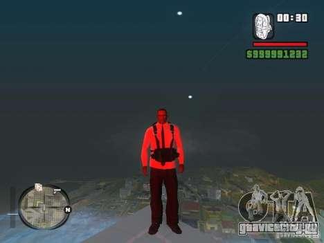 Рубашка с Галстуком для GTA San Andreas четвёртый скриншот