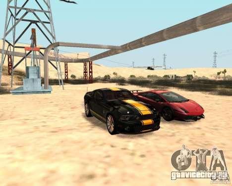 ENBSeries by Nikoo Bel для GTA San Andreas второй скриншот