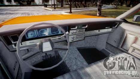 Chevrolet Impala Taxi v2.0 для GTA 4