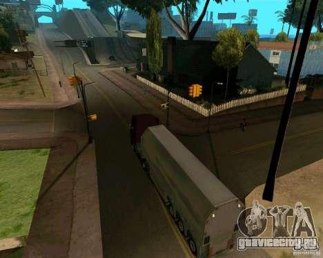 Прицеп Стекловоз для GTA San Andreas вид справа